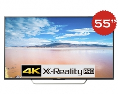 "Televisor LED SONY KD-55X725 UHD SMART 4K 55"" CON CLEARAUDIO+"