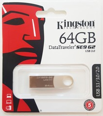 Pen drive Kingstone 64GB DTSE9 G2