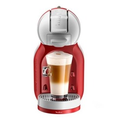 Cafetera Moulinex Dolce Gusto Pv1208 Mini Me Roja