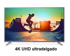 "TV led Philips 4k smart 50"" 4K UHD ultradelgado 50PUG6513"